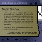 Zauberkunst im Untergrund